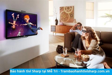 Bảo hành tivi Sharp tại Mễ Trì